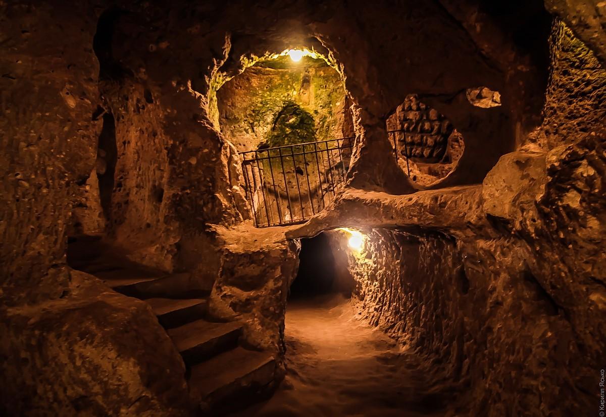 Фото Подземный город Деринкую | Каппадокия, Турция | Турпром