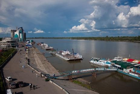 В Алтайском крае планируют развивать речные круизы