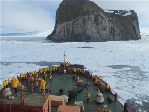 Нацпарк «Русская Арктика» вэтом году посетили около тысячи туристов