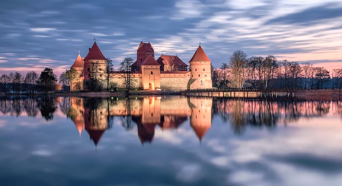 Красивый Литовский замок