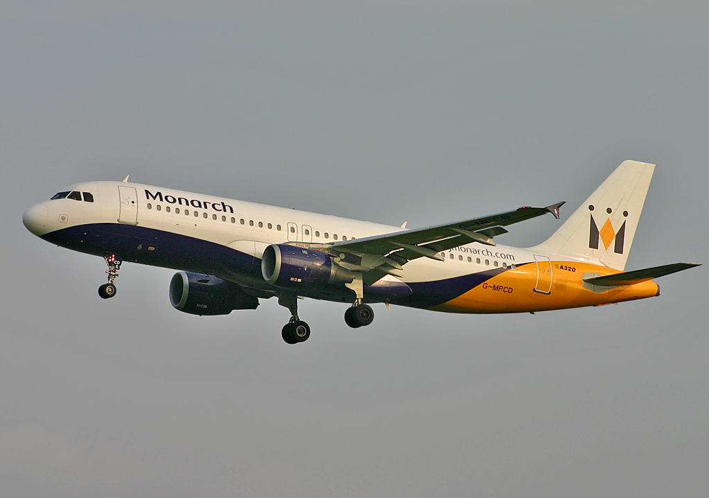 Британская авиакомпания Monarch Airlines прекратила полеты