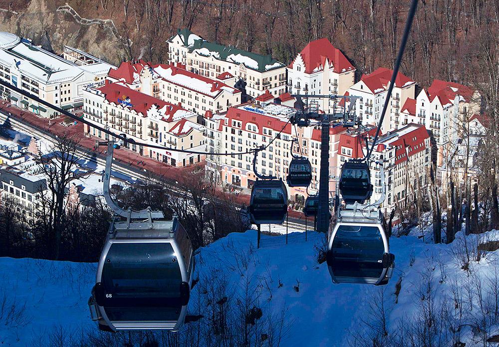 В Сочи прибыл первый прямой авиарейс с туристами-горнолыжниками из Берлина