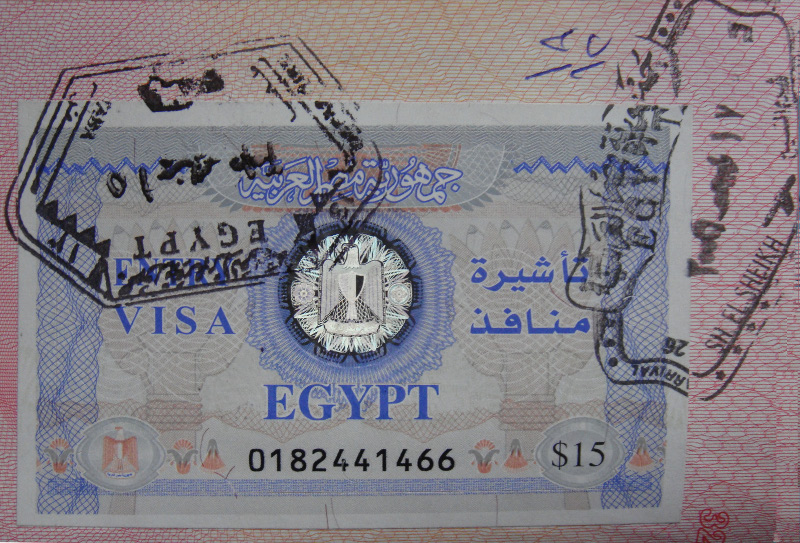 Египетские визы для туристов из Российской Федерации могут подорожать