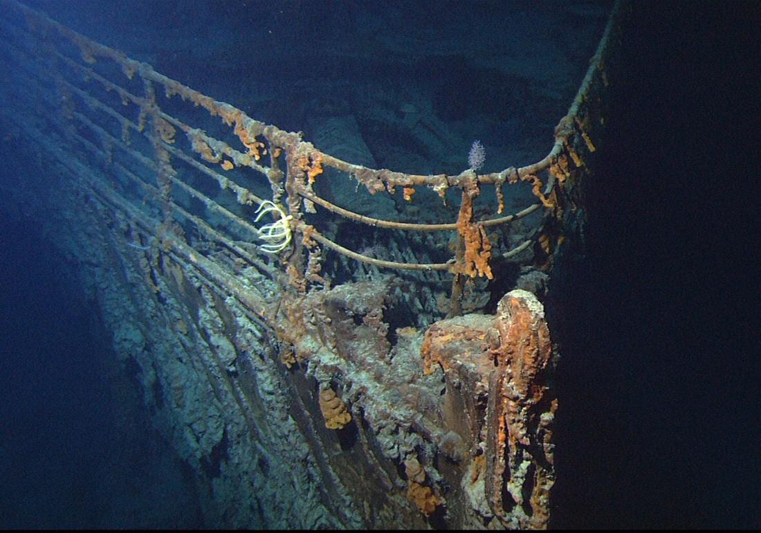 Лондонская компания откроет подводные туры к«Титанику»