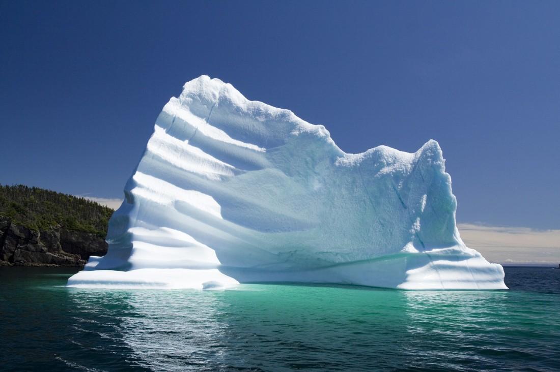 фото высокого разрешения полосатых айсбергов пароль
