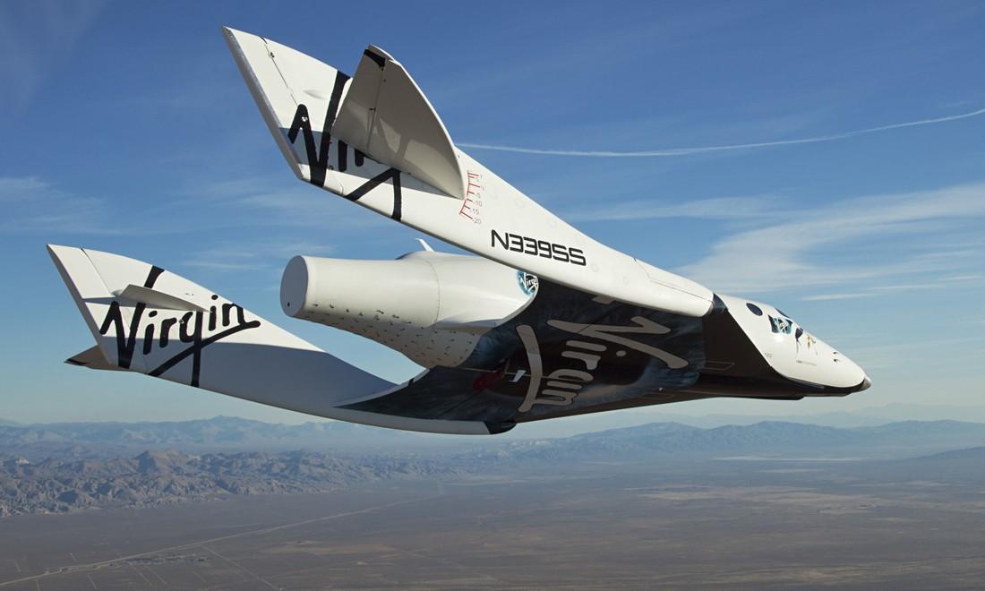 Virgin Galactic испытала космический корабль