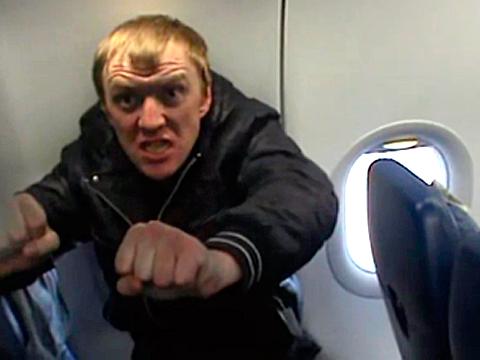 Анталья: нетрезвый житель россии больше часа дрался наборту рейса Москва