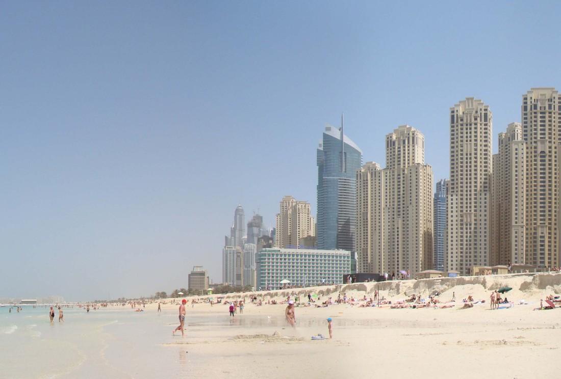 Дубай секс пляж скандал