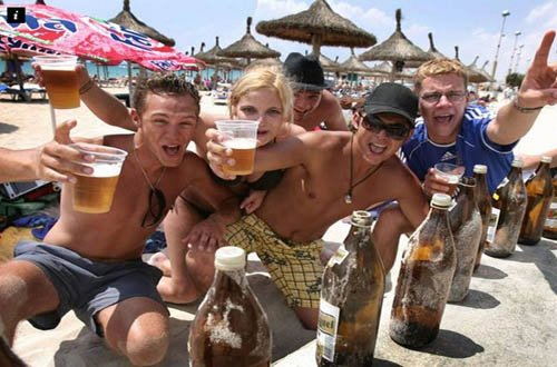 Секс на пляже майорка