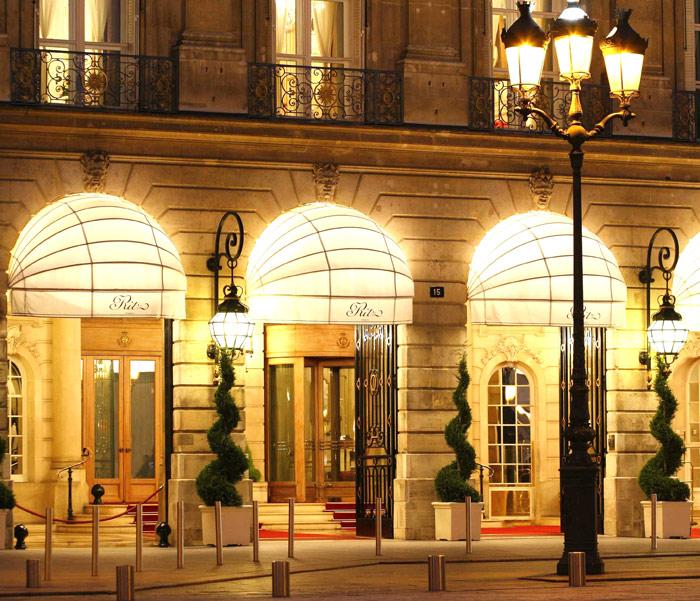 Банда с топорами ограбила на €4 млн витрину пятизвёздочного отеля в Париже