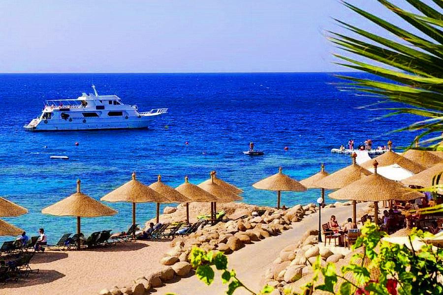 За секс на пляже в египте