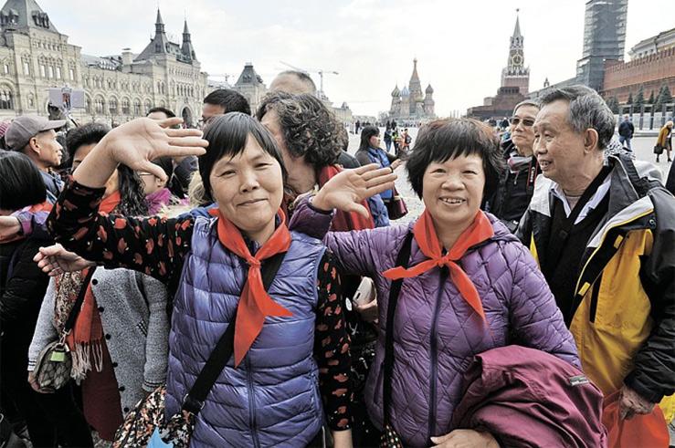 В Российскую Федерацию прибыло полтора млн китайских туристов
