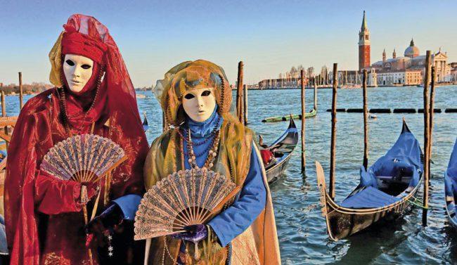 В Венеции стартовал карнавал: ждут традиционные полмиллиона туристов