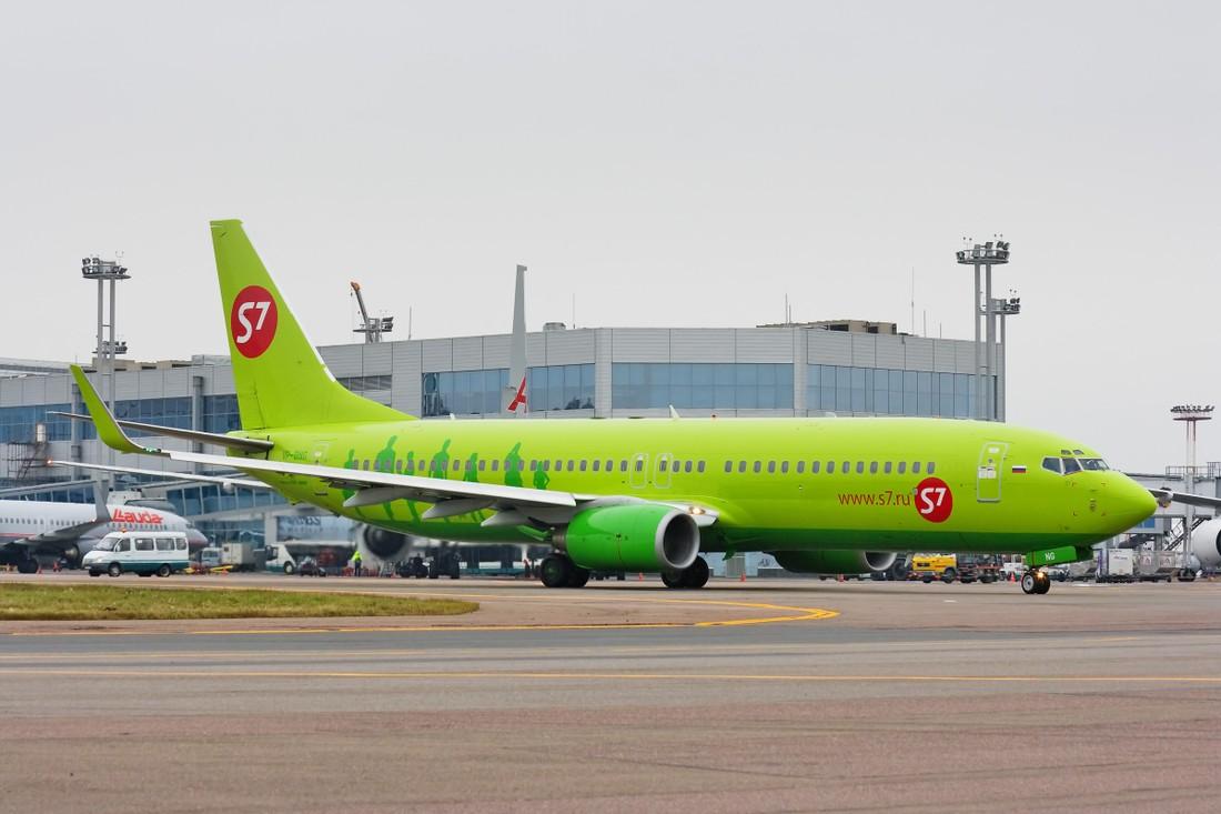 В Домодедово начнут распознавать лица пассажиров S7 Airlines