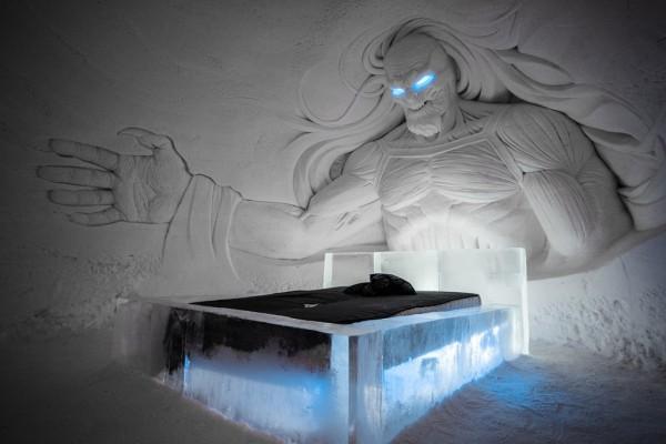 В Финляндии открыли ледовый отель для поклонников Игры Престолов