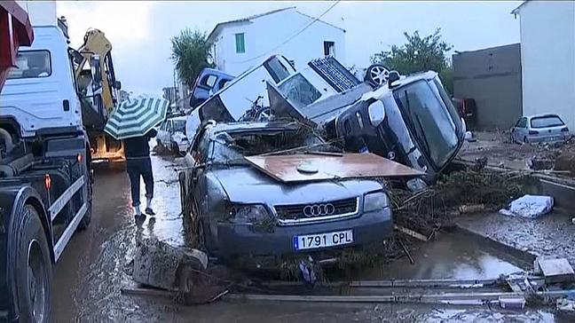 На Майорке сильное наводнение, погибли три туриста, российских пострадавших нет , Испания