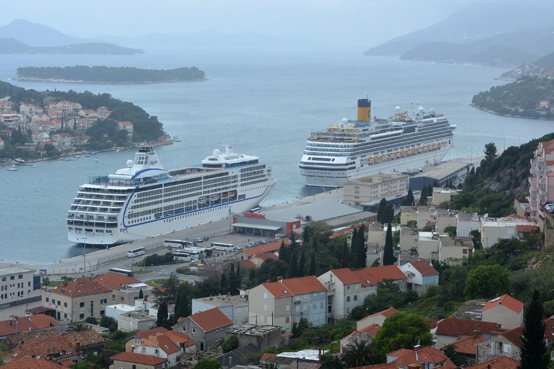 Хорватский Дубровник: не более двух лайнеров в день , Хорватия