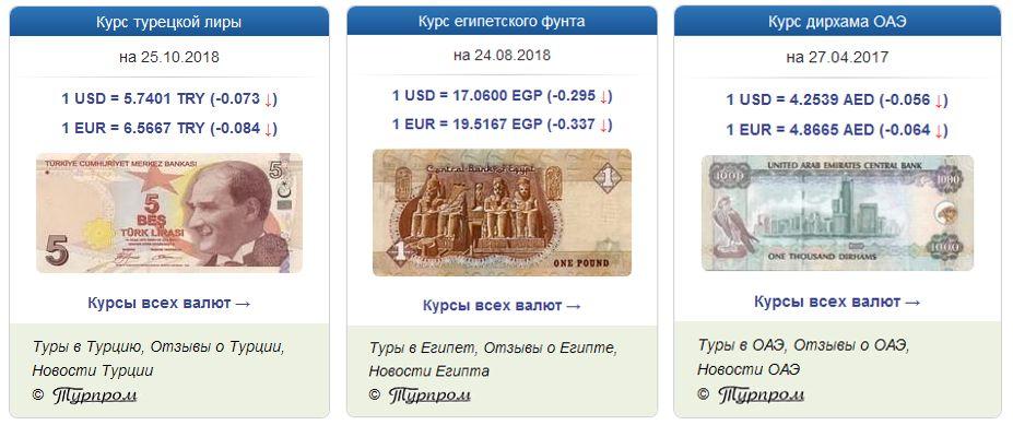 Анонс  В помощь турагентствам  курсы валют всех стран! 33e6d038fb8