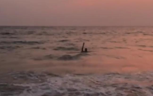 Волочкова чуть не утонула на тайском курорте, пытаясь сесть на шпагат