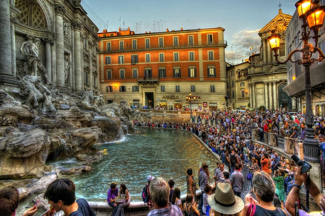 подобранный образ, фото рима сделанные туристами например, приходилось сниматься