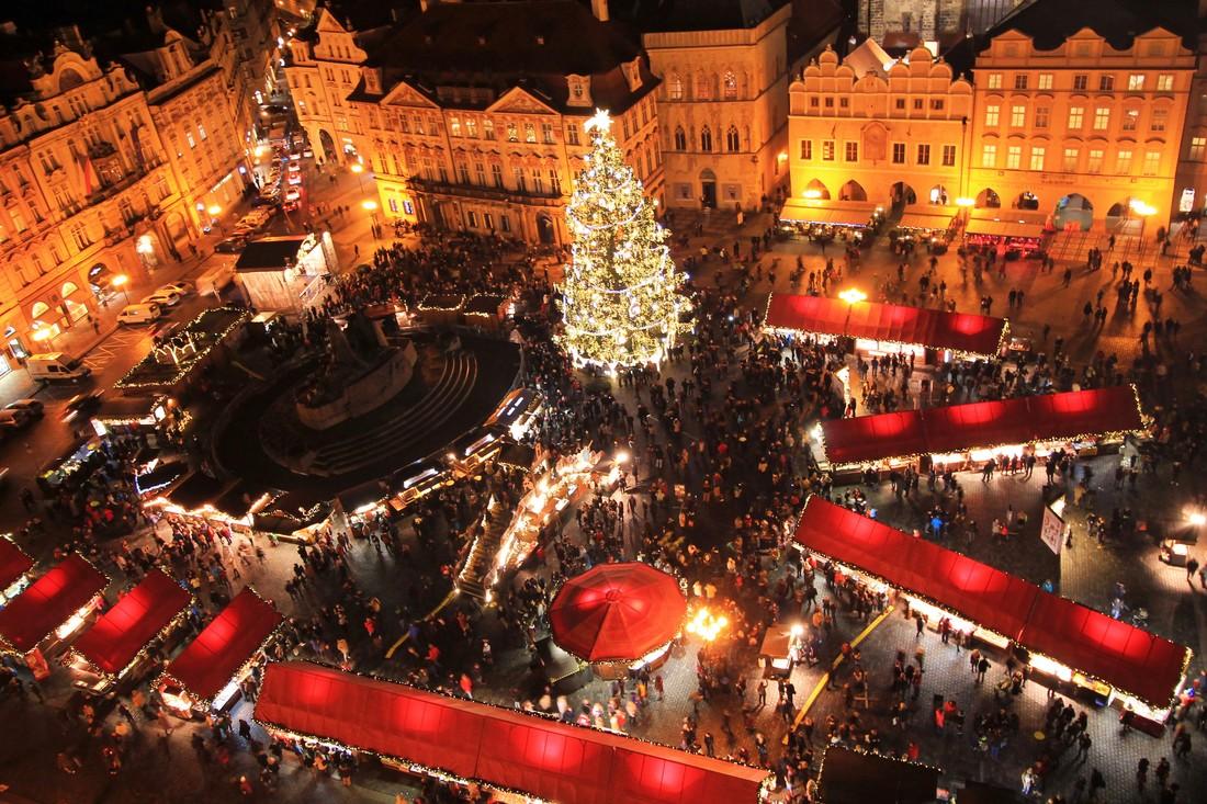 Обратный отсчёт: через 2 недели в Праге откроют Рождественские базары
