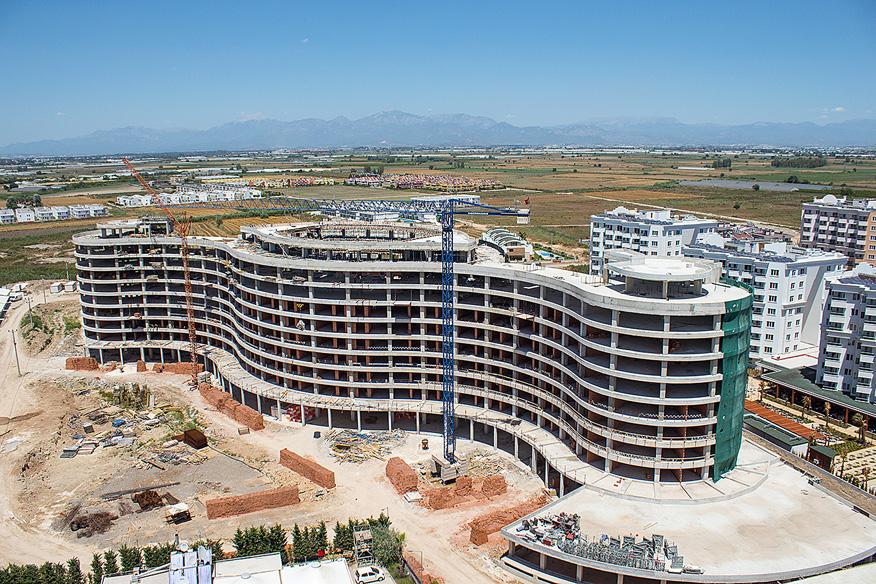В Турции построят 167 новых отелей