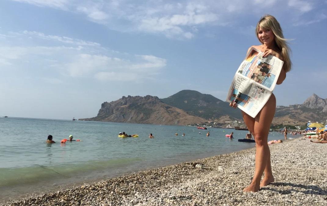 Нудисты На Пляжах России