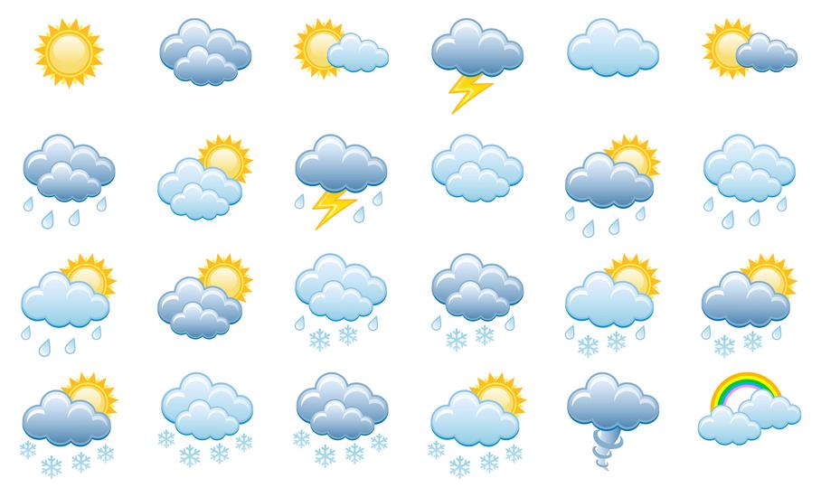 Картинки с разной погодой для детей