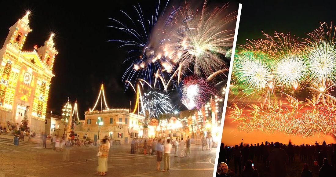 Мальта зазывает туристов на Международный фестиваль фейерверков