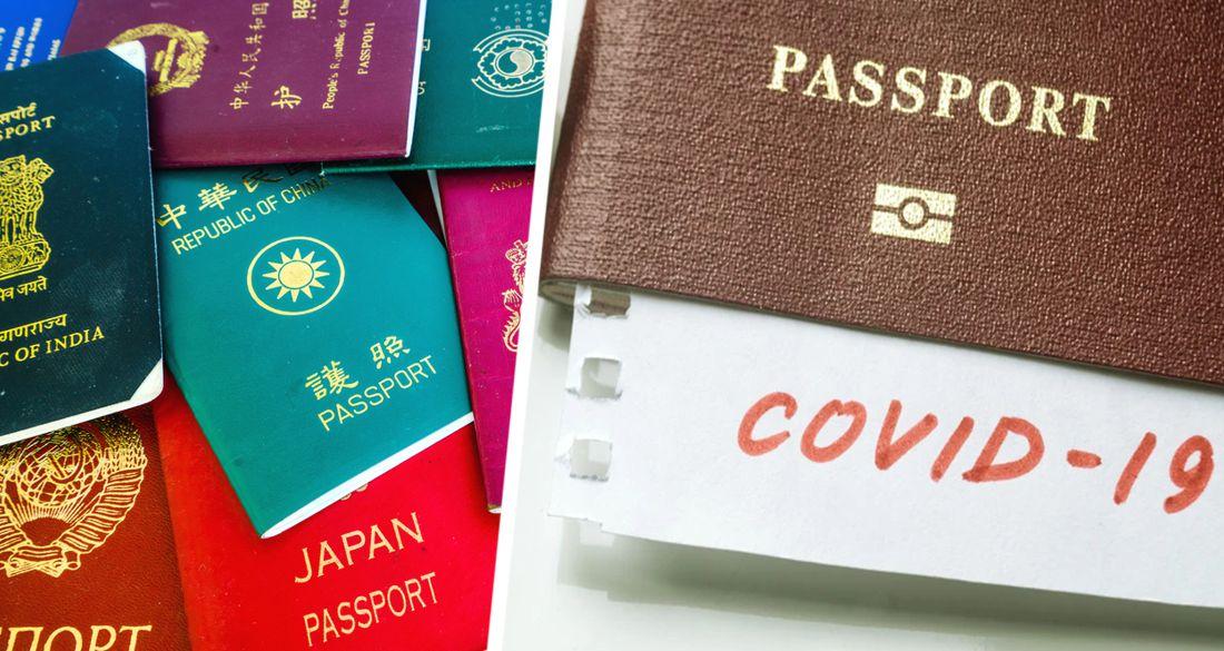 Для туристов введут «коронавирусный паспорт»