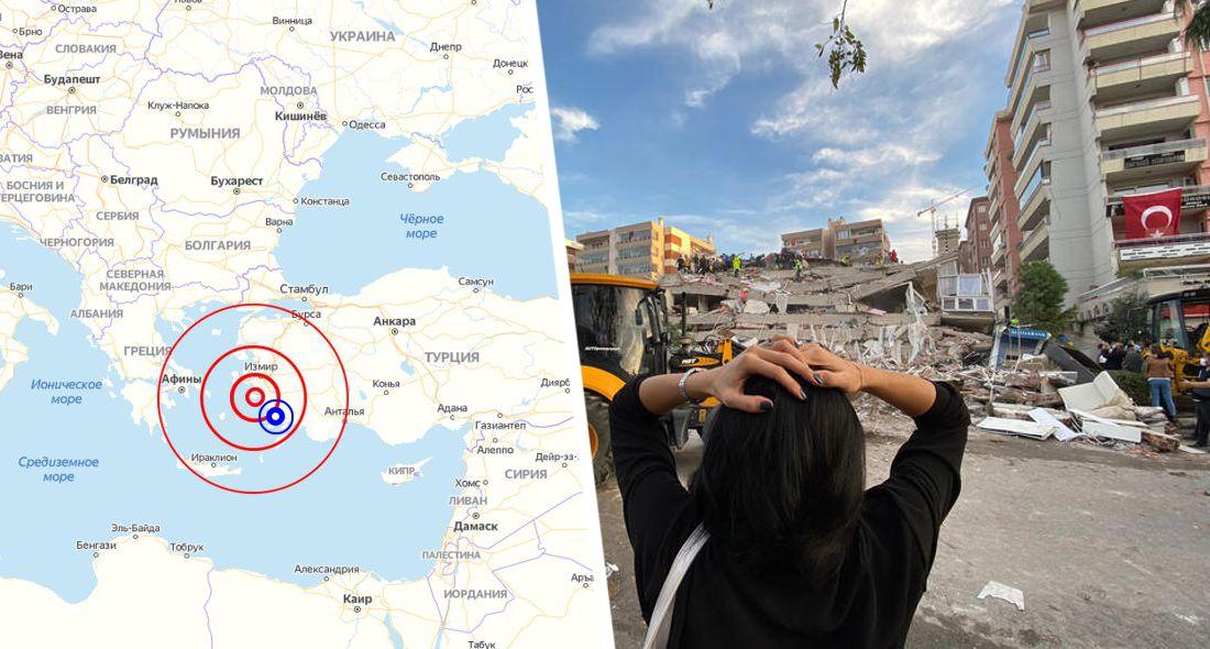ϟ Второе за сутки землетрясение в Турции ударило по курорту Кушадасы