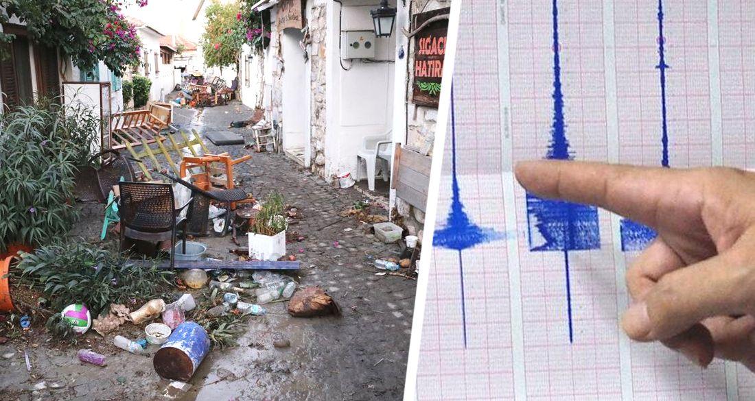 ϟ В Измире новое землетрясение: люди провели ночь в палатках, 13 отелей бесплатно открылись для пострадавших, туристический район разгромле