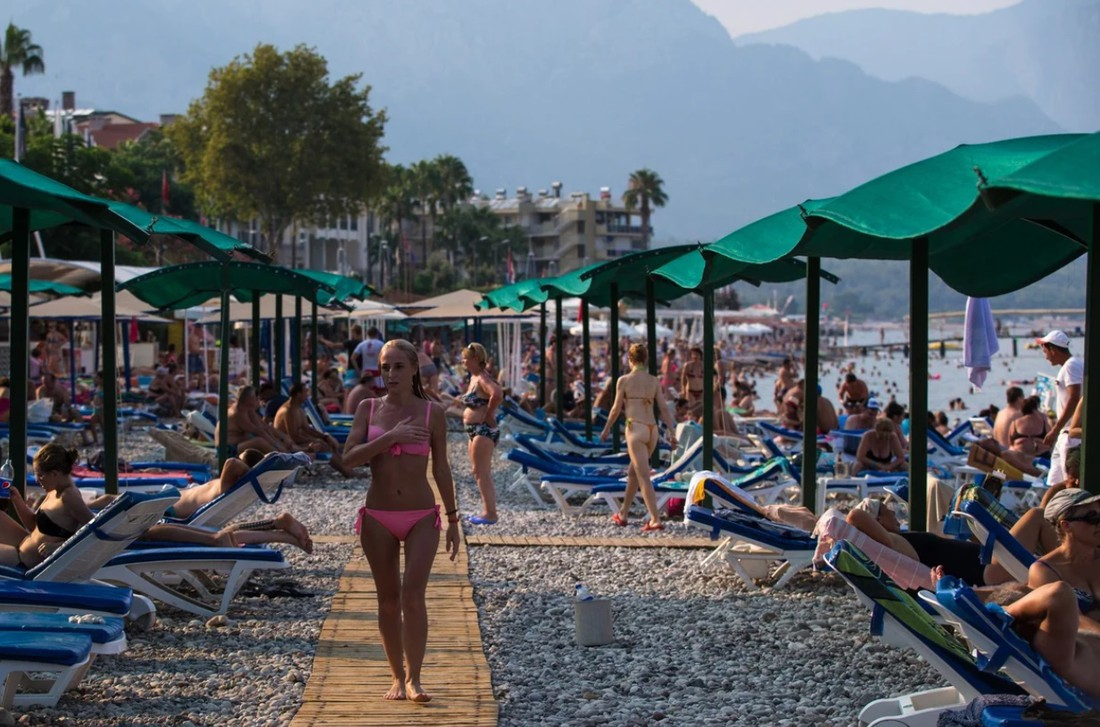Турция вышла на шестое место по популярности у туристов