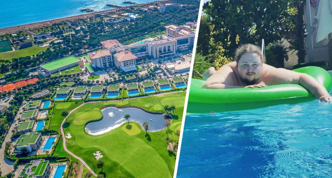 Отель в Турции взял в заложники сына Никаса Сафронова и вымогает деньги за сломанный бассейн