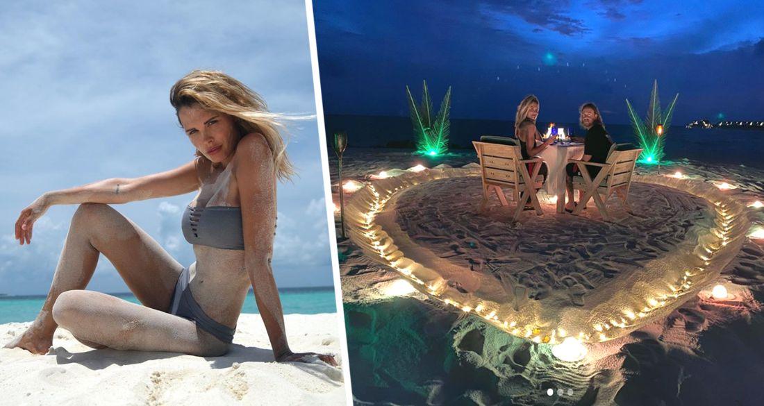 Мальдивы: Мария Горбань удивила поклонников пикантным бикини