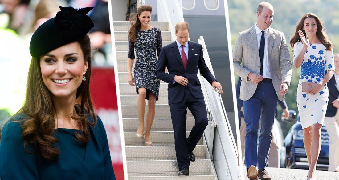 Герцогиня Кейт Миддлтон дала модные советы собирающимся в путешествие