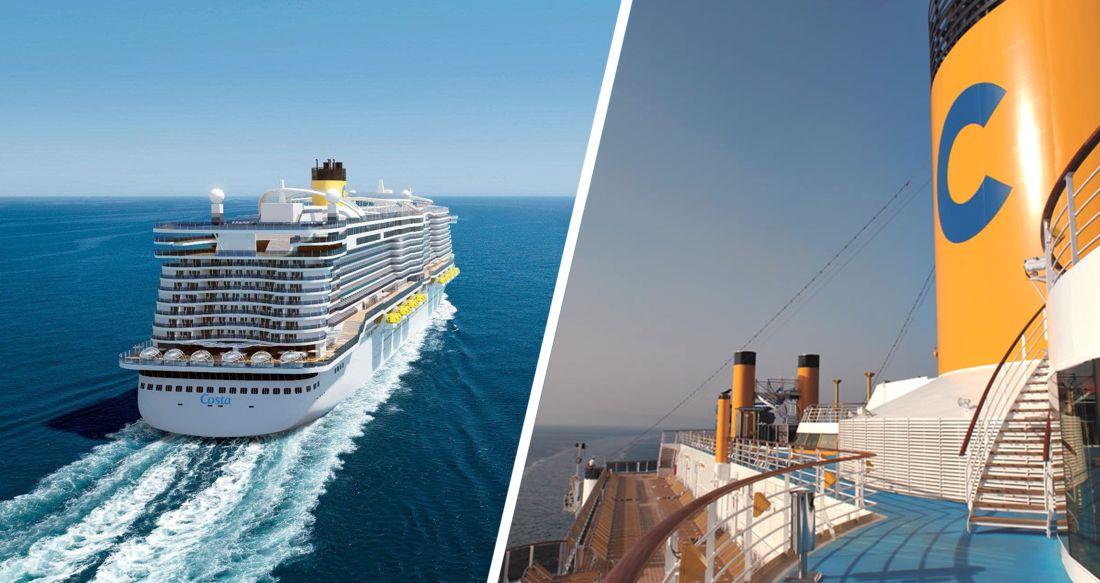 В Италии возобновились морские круизы Costa Cruises