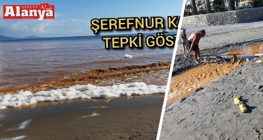 Туристы в шоке: на популярном курорте Турции море стало грязно-бурым