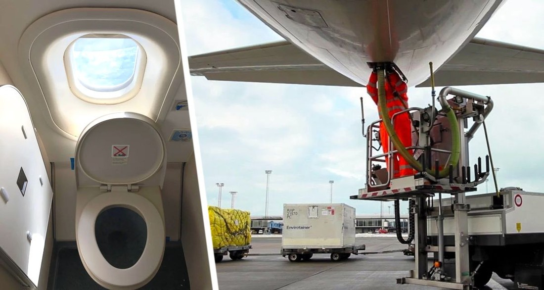 Авиатор рассказал о сбросе фекалий из самолета и засасывании пассажиров в унитаз