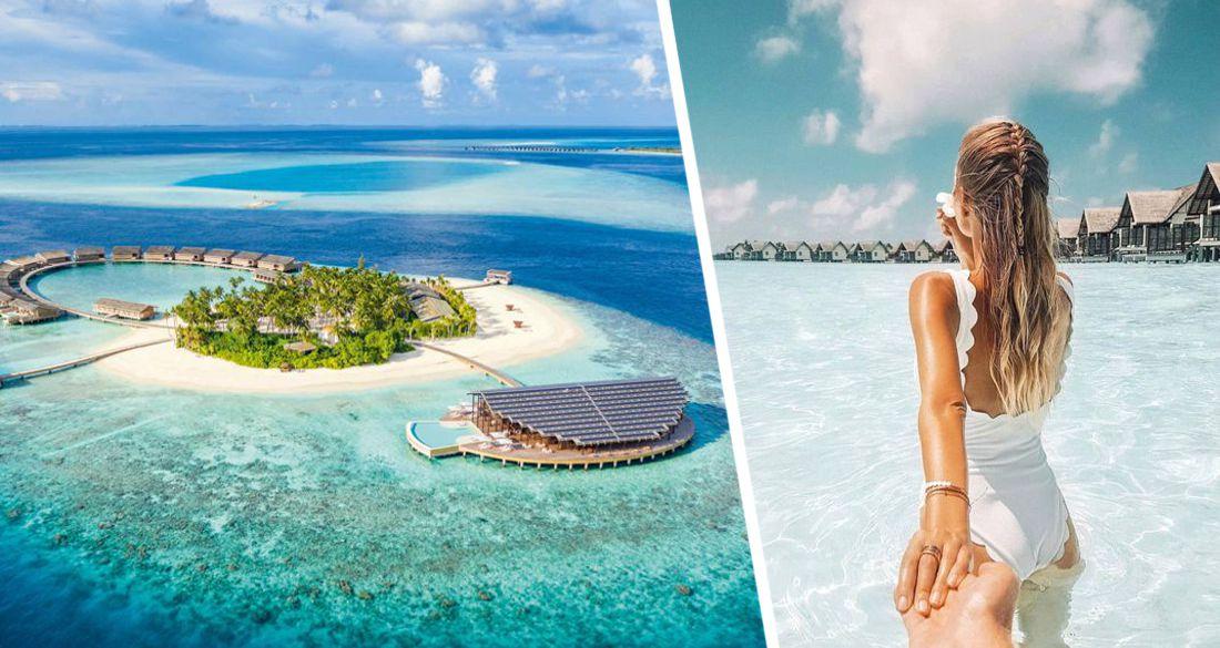 Мальдивы приняли 147'744 туриста и начали поголовную вакцинацию