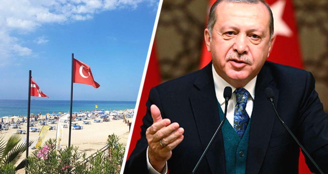 В Турции массово рухнули туристические сайты