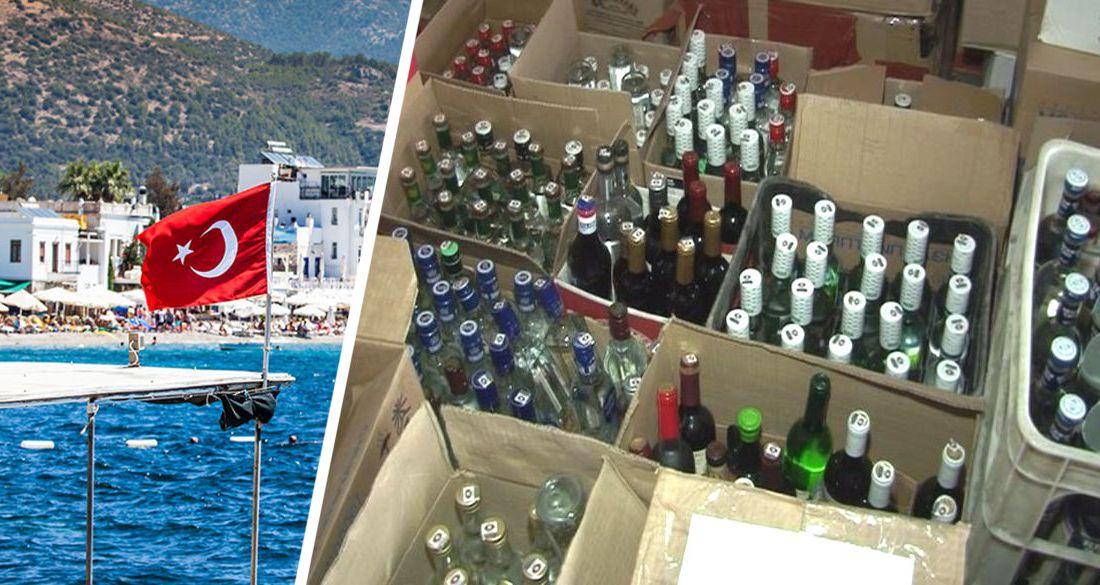 Отдых будет трезвым: в Турции запретили алкоголь