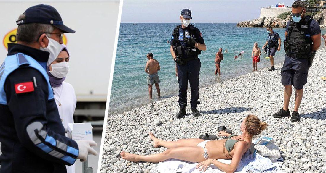 Анталия превратилась в мертвую зону: туристов на пляжах начали досматривать с помощью вертолетов и катеров береговой охраны