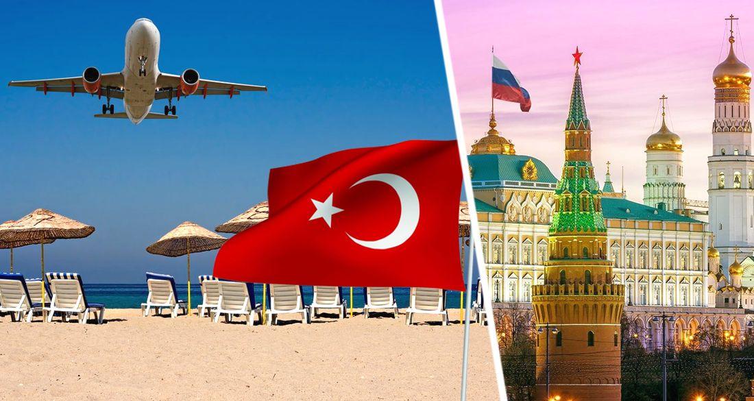 Кремль пообещал восстановить авиасообщение в Турцию и открыть туризм