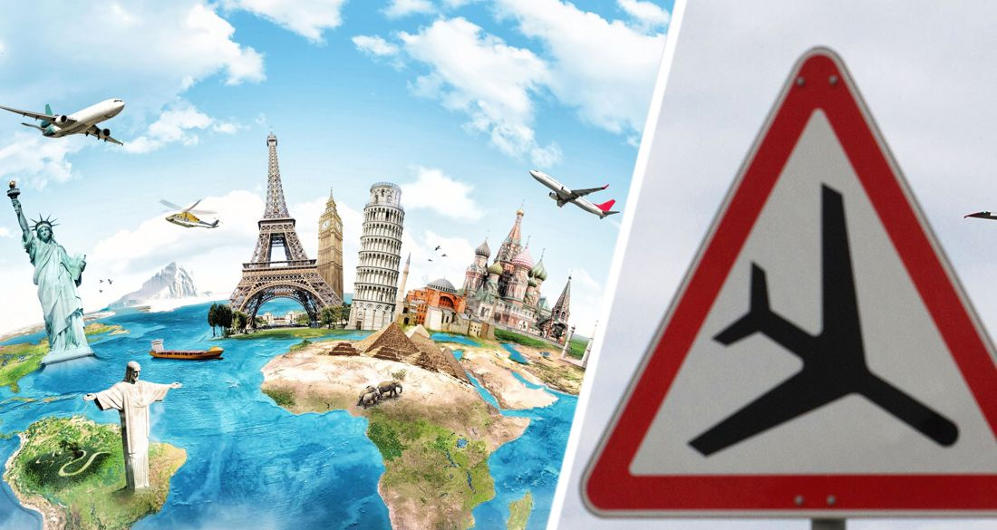 Туристов предупредили не выезжать за границу «без крайней необходимости» до осени