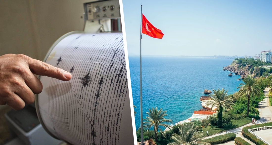Мистическое совпадение: в день открытия Турции, как и при закрытии, в Анталии и Мармарисе произошли землетрясения