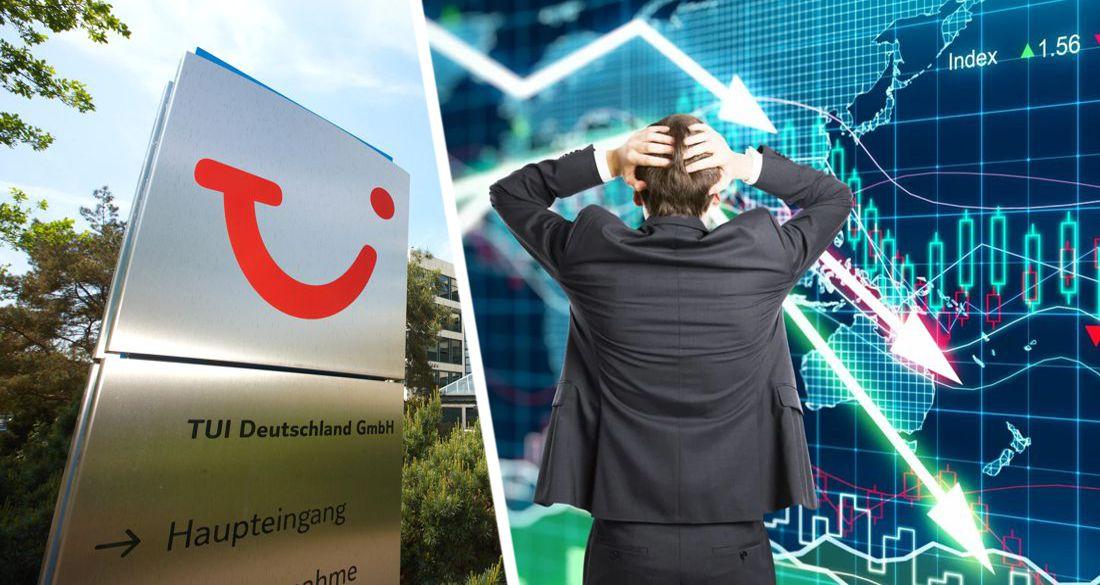 TUI не хватило денег - Bloomberg