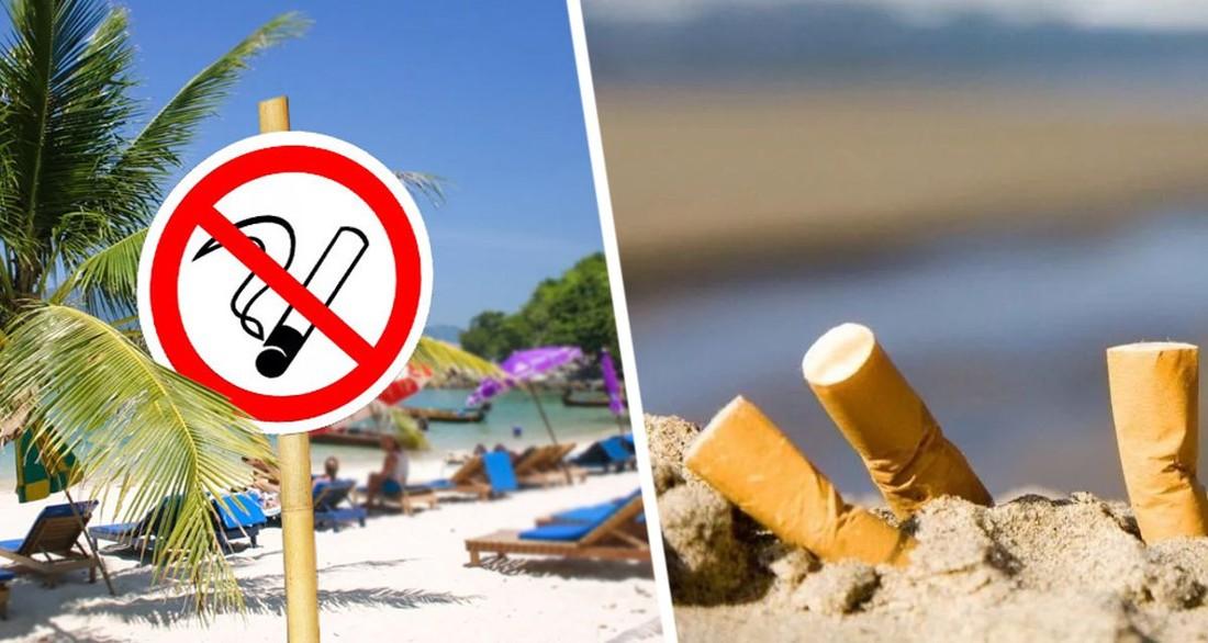 Популярная у состоятельных россиян средиземноморская страна запретила курение на пляжах