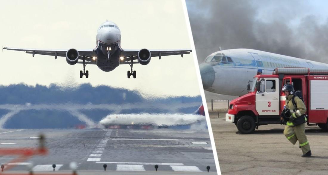 Летевший в Анталию самолет подал сигнал бедствия и запросил экстренную посадку