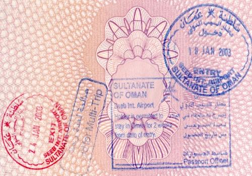 Виза в Оман - стоимость и документы для оформления визы в Оман, путеводитель Турпрома